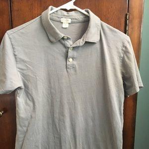 Boys Gray short sleeve Polo